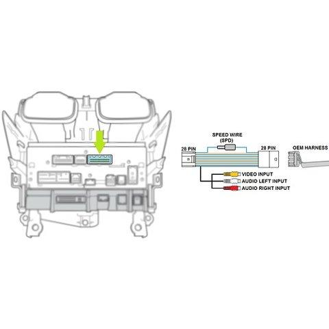 Відеокабель для моніторів Toyota Touch 2 / Entune / Link Прев'ю 3