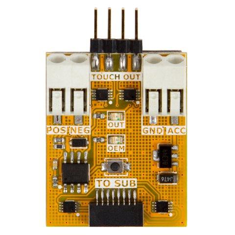 Универсальный коммутатор штатного резистивного сенсорного стекла (RTC) Превью 3