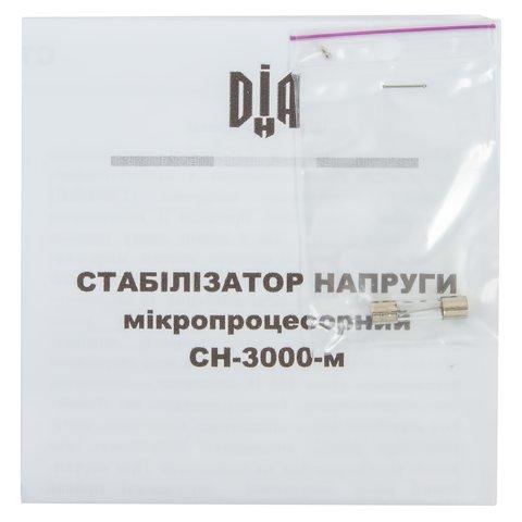 Стабілізатор напруги ДІА-Н СН-3000-м Прев'ю 6