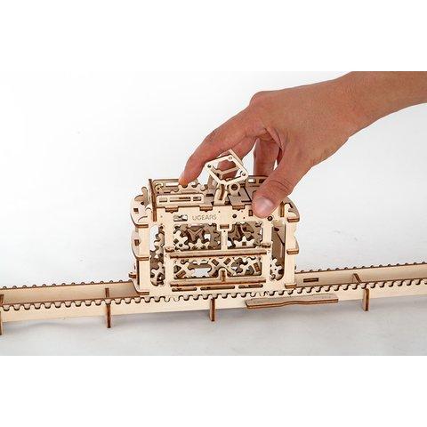 Механічний 3D-пазл UGEARS Трамвайчик - /*Photo|product*/
