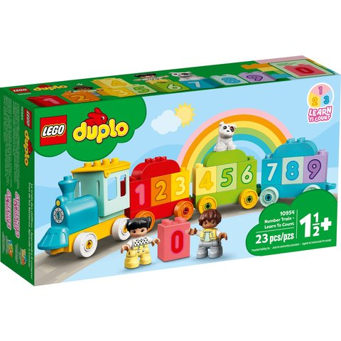 Конструктор LEGO DUPLO Потяг із цифрами – вчимося рахувати 10954 Прев'ю 5