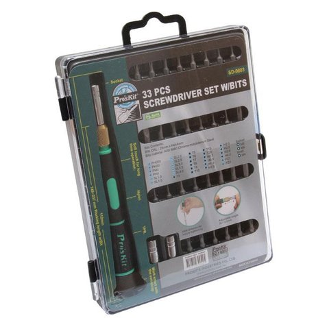 Screwdriver Pro'sKit SD-9803 with Bit Set - Preview 4